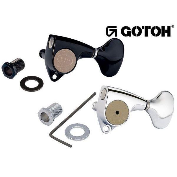 ゴトー【GOTOH】ギターペグ SGV510Z-スタンダード軸(Xクローム) ツマミ:L5/S5|factorhythm