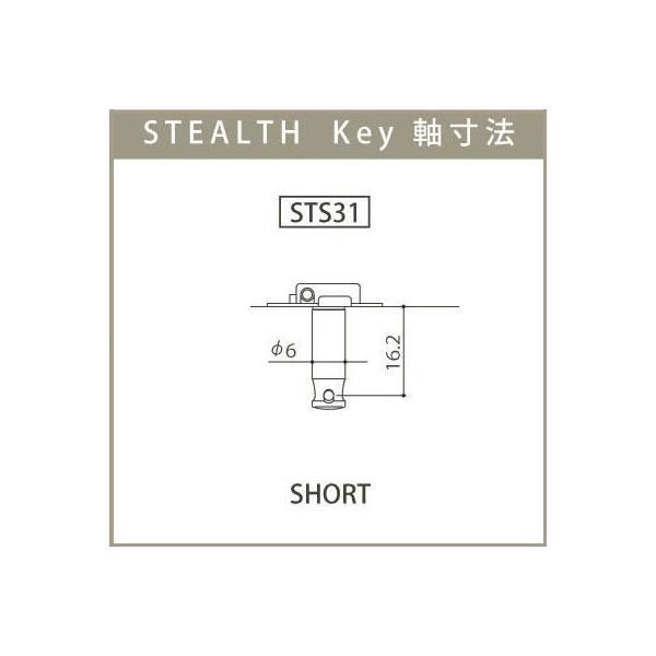 ゴトー【GOTOH】超小型ウクレレペグ ステルス STS31(ゴールド)|factorhythm|03