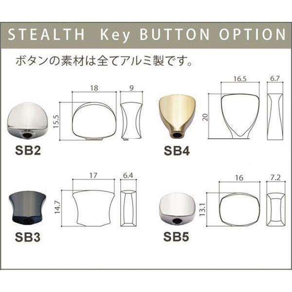 ゴトー【GOTOH】超小型ウクレレペグ ステルス STS31(ゴールド)|factorhythm|04