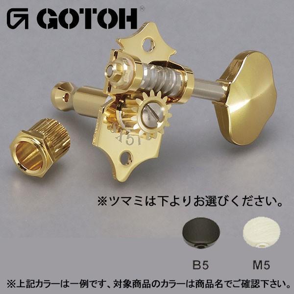 ゴトー【GOTOH】オープンギアタイプSXB510(ニッケル) ツマミ:B5/M5|factorhythm