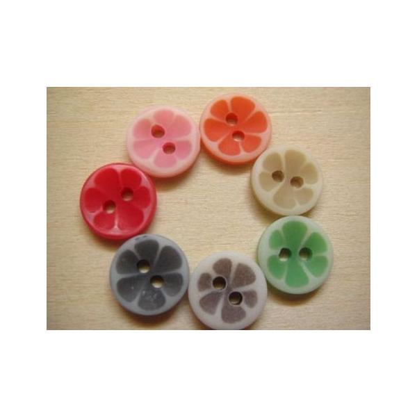 プラスティックボタン、ポリボタン(キャンディボタン)35個セット|fairy-lace|02