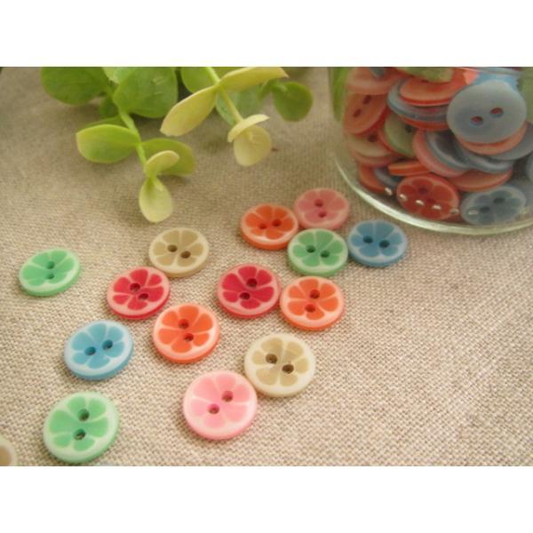 プラスティックボタン、ポリボタン(キャンディボタン)35個セット|fairy-lace|03