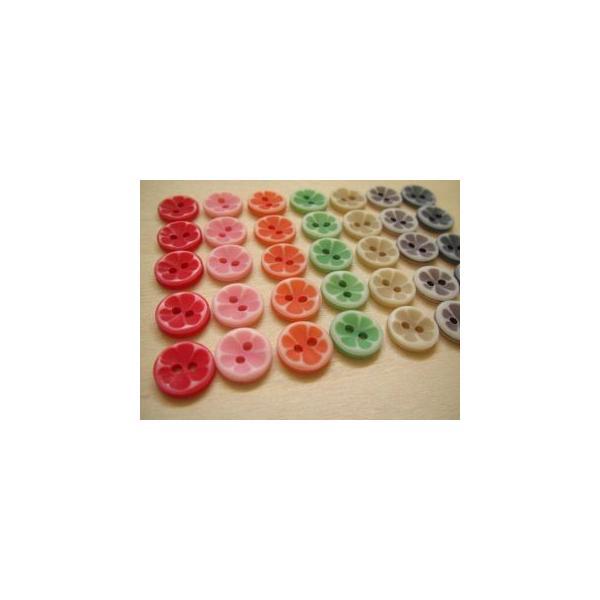 プラスティックボタン、ポリボタン(キャンディボタン)35個セット|fairy-lace|04