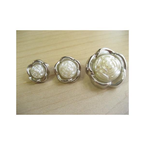 ボタン(ローズ)1204 fairy-lace