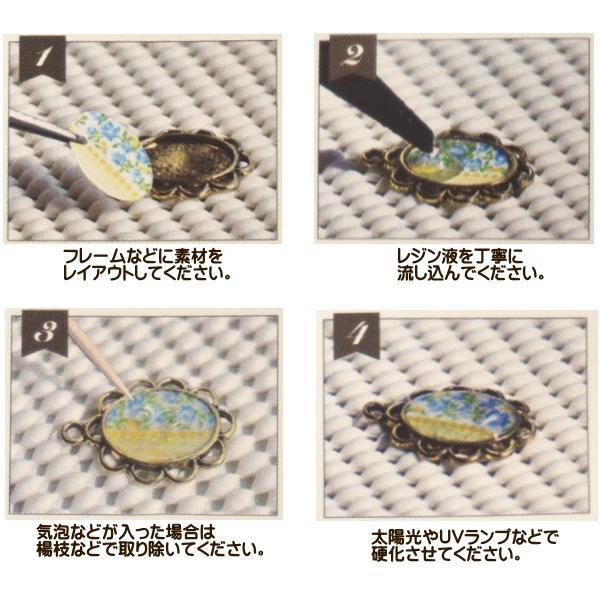レジン レジン液 1本 クラフトアレンジ クリア 65g UV LED 太陽光 ハイブリッド /ネコポス便OK/|fairy-lace|04