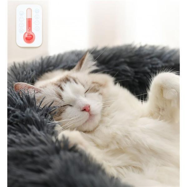 ペットベッド 犬 猫 犬猫用 暖かい 寝袋 ドックベッド 冬用 送料無料 マット おしゃれ かわいい ペットグッズ 寝具 犬用品 ふわふわ ペットマット|fairydust|11