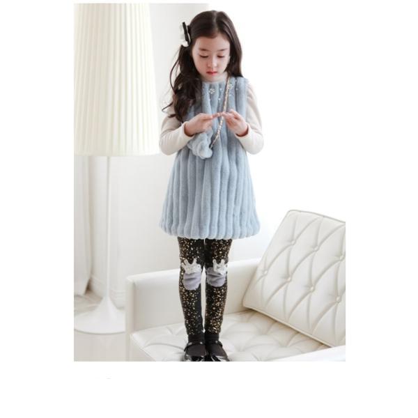 79ebd15644198 ... 子供服 女の子 女児 長袖ワンピース もこもこ 暖かい 冬用ワンピース 厚手 ボア レース 韓国子ども ...