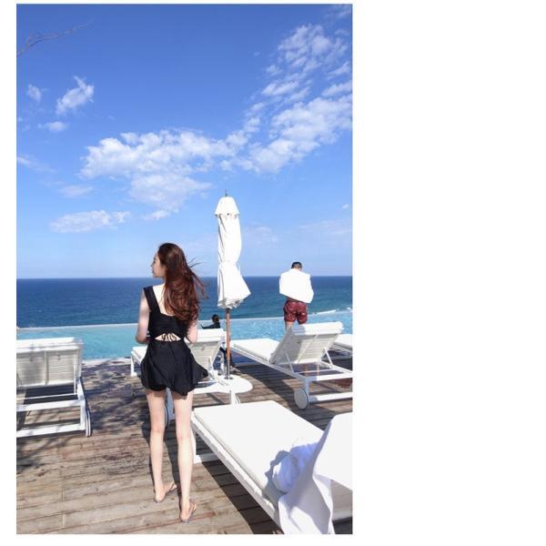水着レディース ワンピース型 ガールズ スイムウェア スイミング 海水浴 温泉 ビーチ ミズギ セクシー 可愛い|fairyhouse0000|17