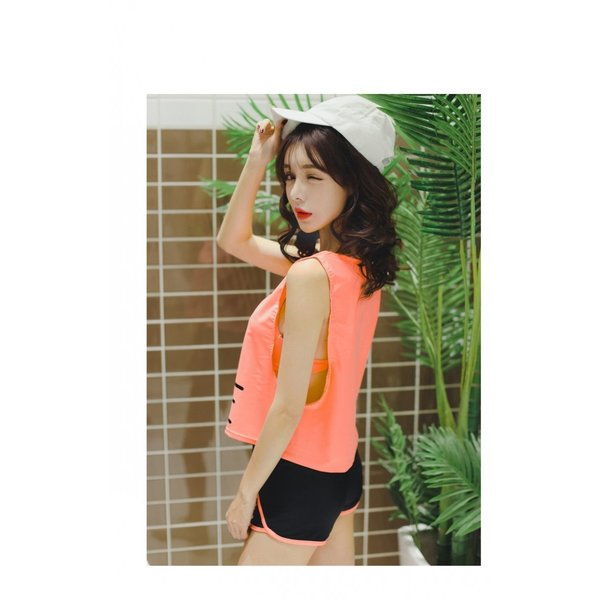 水着 体型カバー タンキニ ビキニ 3点セット水着 レディース  韓国風 セクシー ファッション 水着 可愛い スイムウェア セパレート 紫外線カット 水泳 女性用|fairyhouse0000|15