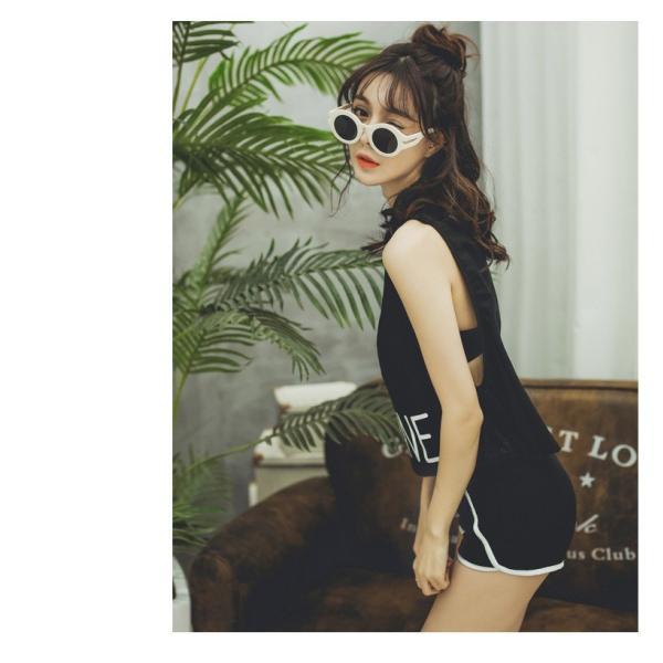 水着 体型カバー タンキニ ビキニ 3点セット水着 レディース  韓国風 セクシー ファッション 水着 可愛い スイムウェア セパレート 紫外線カット 水泳 女性用|fairyhouse0000|10