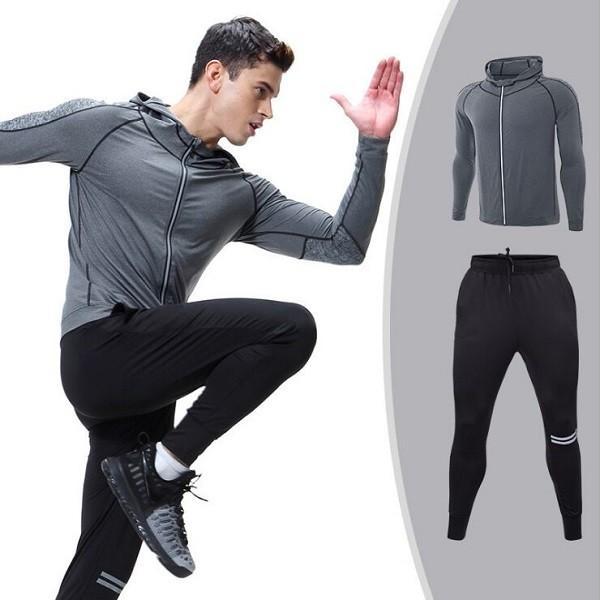 夏用メンズ ランパン ランショーツ 上下セット2/3点 吸汗速乾半袖Tシャツ ジムトレーニングウェア ランニングウェア ジョギング 男性用 マラソン スポーツウエア|fairyhouse0000