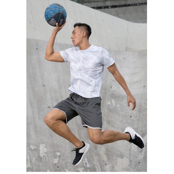 夏用 メンズ ランパン ランショーツ 上下セット 吸汗速乾 半袖Tシャツ ジム トレーニングウェア ランニングウェア ジョギング 男性用 マラソン スポーツウエア|fairyhouse0000|12