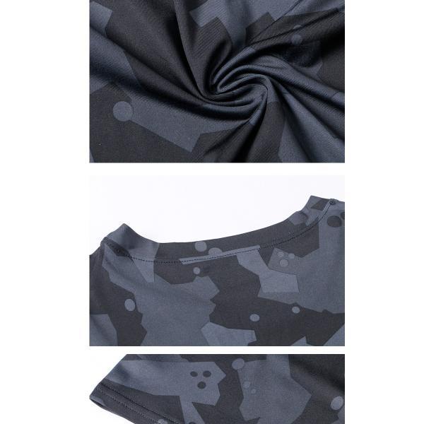 夏用 メンズ ランパン ランショーツ 上下セット 吸汗速乾 半袖Tシャツ ジム トレーニングウェア ランニングウェア ジョギング 男性用 マラソン スポーツウエア|fairyhouse0000|13