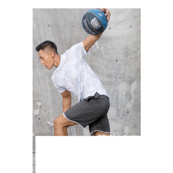 夏用 メンズ ランパン ランショーツ 上下セット 吸汗速乾 半袖Tシャツ ジム トレーニングウェア ランニングウェア ジョギング 男性用 マラソン スポーツウエア|fairyhouse0000|03