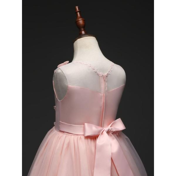 a78ade4685d00 ... 子供ドレス ロング ピアノ発表会 チュール ワンピース 子どもドレス フォーマル 七五三 ジュニアドレス ピンク 紫 ...