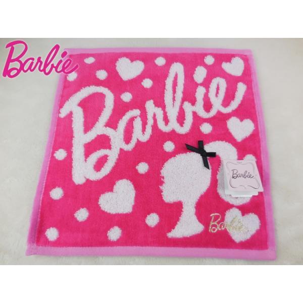 a4eb02dbd4ce5b Barbie バービー タオルハンカチ コスメ&グッズ シルエット 日本製 綿100% ギフト 贈り物ハンド ...