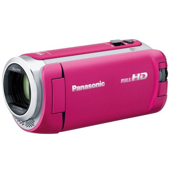 Panasonic デジタルハイビジョンビデオカメラ HC-W590M-P ピンク