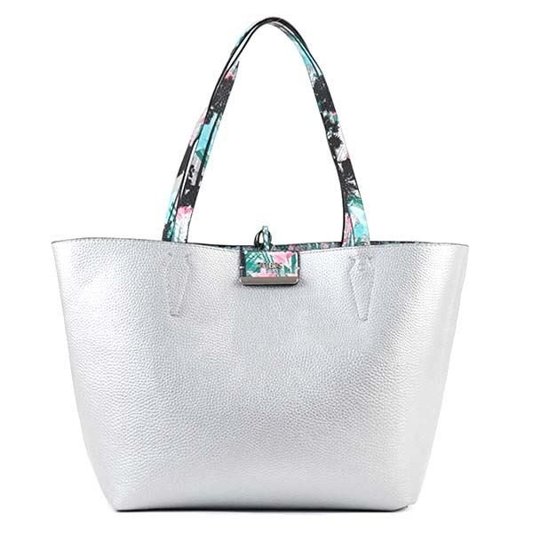 Guess(ゲス) トートバッグ PP642236 PSI PALM/SILVER