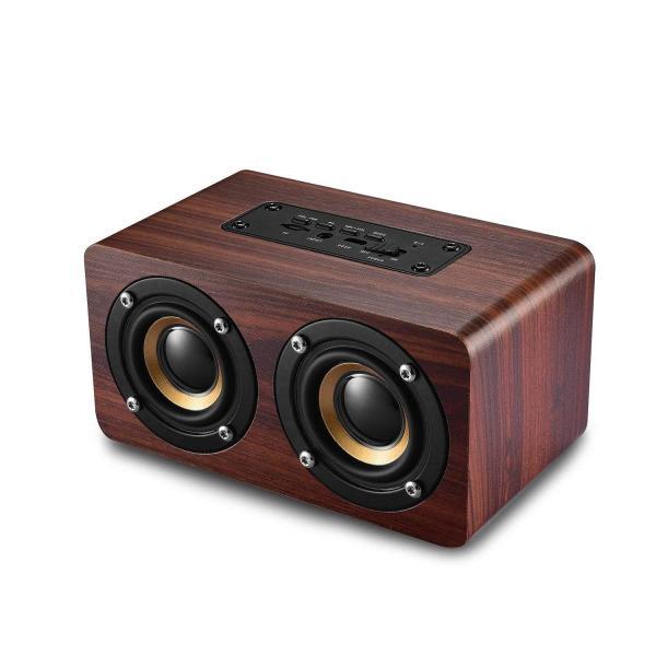 Bluetooth スピーカー タッチ 3dステレオ ワイヤレススピーカー 内蔵マイク搭載 高音質マイク内蔵 大音量 5W*2拡声器 強化さ