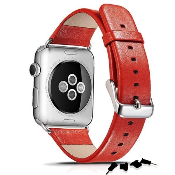ICARER アップルウォッチ バンド 本革 牛革 ラグジュアリーレザー for Apple Watch Series 1/Apple Wa