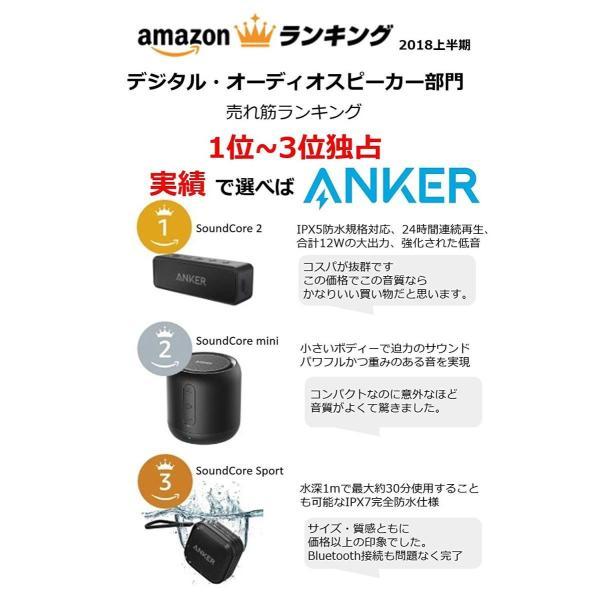 Anker SoundCore 2 (12W Bluetooth4.2 スピーカー 24時間連続再生)強化された低音 / IPX5防水規格 faith821 08