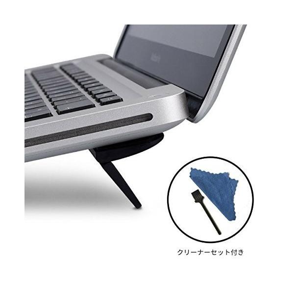 ginor ノートパソコン スタンド PCスタンド ノート 折りたたみ 傾斜 角度 放熱 冷却 PC MacBook ラップトップ iPad faith821 02