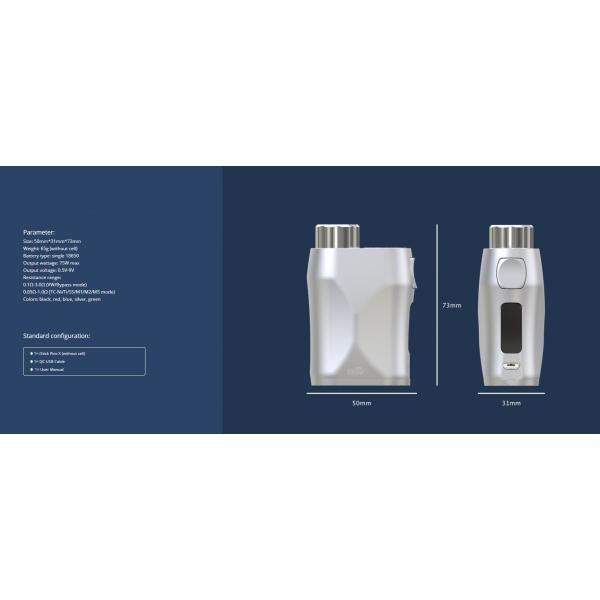 Eleaf iStick Pico X 75W 温度管理機能付き BOX MOD 電子タバコ VAPE|fake-smoker|03