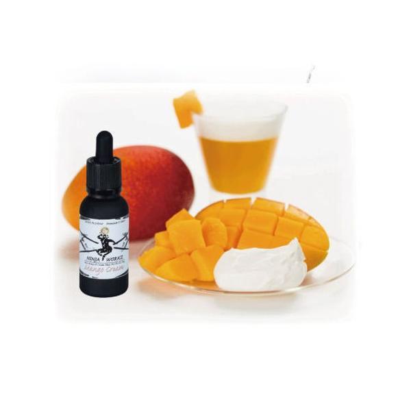 NINJA WORKZ Mango Cream マンゴークリーム 30ml premium E-lixirs 電子タバコ VAPE用 国産 リキッド