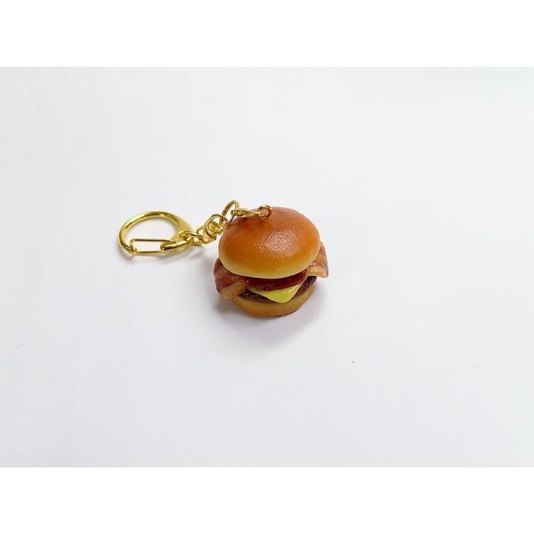 バーガー:ベーコンチーズ キーホルダー