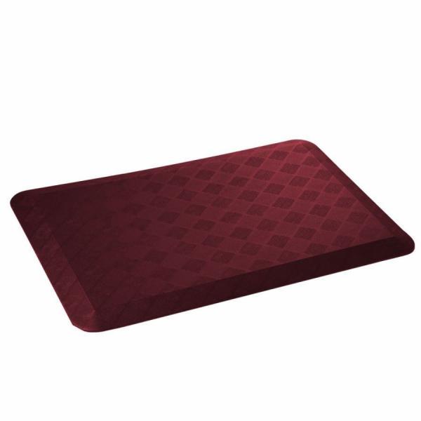 在庫限り 全米シェアNo,1疲労軽減マット 50cm×76cm×19mm 足腰に優しい低反発 簡単に洗える 耐水・耐油・耐冷・耐滑 床暖房対応|fami-renovation|05