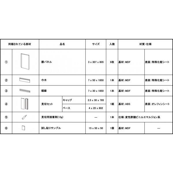 【お取寄品】DIY 化粧パネル腰壁セット 猫の壁ひっかき防止にも|fami-renovation|06