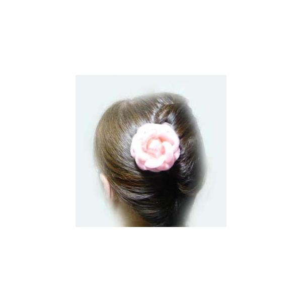 コサージュ&ヘアクリップ2WAY ふんわり優しいオーガンジー ブローチピン 髪飾り ヘアーアクセサリ-|familiamia|06