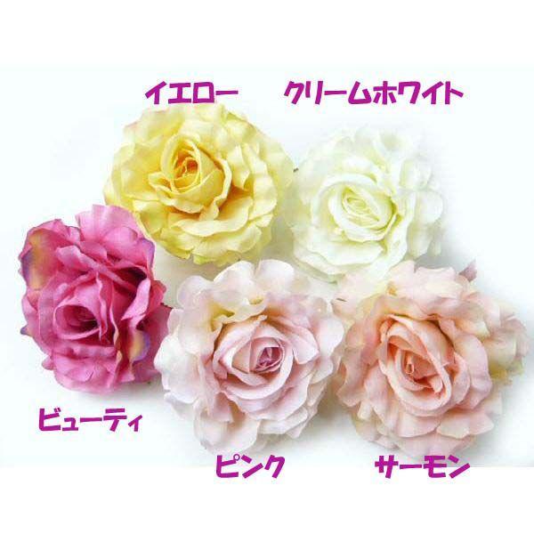 髪飾り アクセサリー クイーンローズ6582 コサージュ&ヘアクリップ2WAY(1個)|familiamia|03