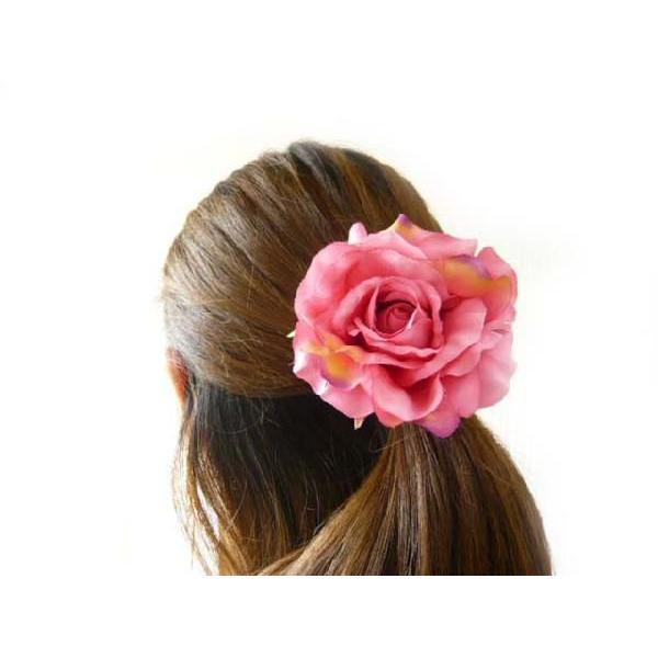 髪飾り アクセサリー クイーンローズ6582 コサージュ&ヘアクリップ2WAY(1個)|familiamia|04