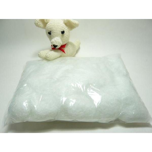 手芸 綿 クラフト綿(化繊綿)100g わた つめ綿 クリスマス 雪 スノー ぬいぐるみや編みぐるみに|familiamia|02