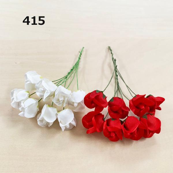 造花 「ミニローズと小花」アソートセット100本入り (1セット) アートフラワー familiamia 04