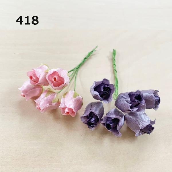 造花 「ミニローズと小花」アソートセット100本入り (1セット) アートフラワー familiamia 05