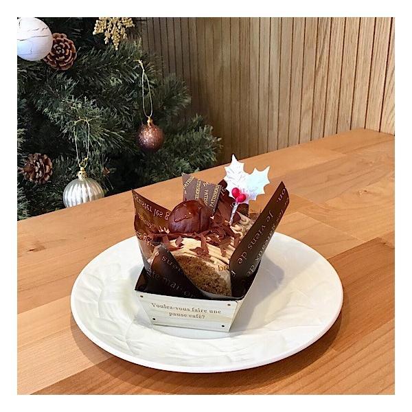 クリスマスケーキ 飾り  オーナメント FX-24 白のヒイラギ (10本入)|familiamia|04