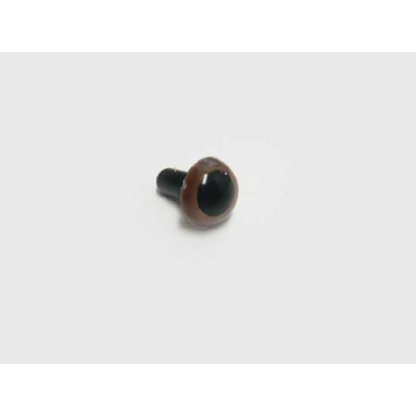クリスタルアイ 12mm(ストレート)(1個) さし目 眼 鼻 手芸材料 プードル クマ ねこ 人形 familiamia
