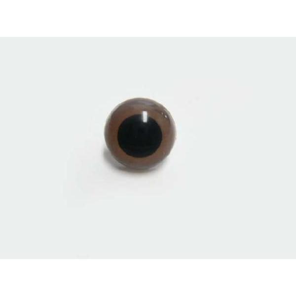 クリスタルアイ 15mm(ストレート)(1個) さし目 眼 鼻 手芸材料 あみぐるみ ぬいぐるみ familiamia
