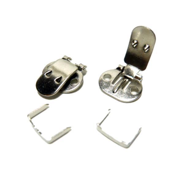 シューズクリップ 金具(2個/1足分) シューズアクセサリー 靴飾り シューズホック familiamia