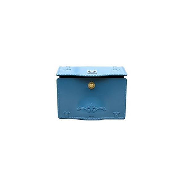 LIXIL エクスポストD-1(セレスティアルブルー)  ※※ ダイヤル 郵便ポスト リクシル おしゃれ 激安 ポスト デザイン ポスト ※※