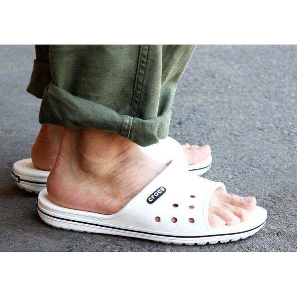 クロックス サンダル crocs クロックバンド2.0 スライド crocband2.0 slide スポーツサンダル 上履き オフィス スリッパ 事務 メンズ レディース 204108|famshoe|04