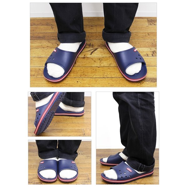 クロックス サンダル crocs クロックバンド2.0 スライド crocband2.0 slide スポーツサンダル 上履き オフィス スリッパ 事務 メンズ レディース 204108|famshoe|05