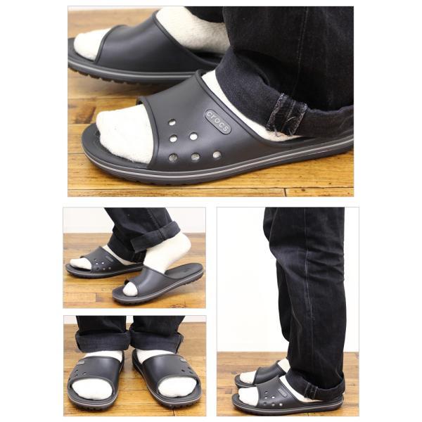 クロックス サンダル crocs クロックバンド2.0 スライド crocband2.0 slide スポーツサンダル 上履き オフィス スリッパ 事務 メンズ レディース 204108|famshoe|06