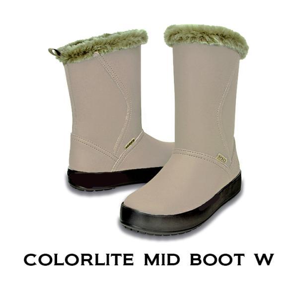 49302c605a68c0 クロックス レディース crocs カラーライト ミッドブーツウィメン colorlite mid boot famshoe ...