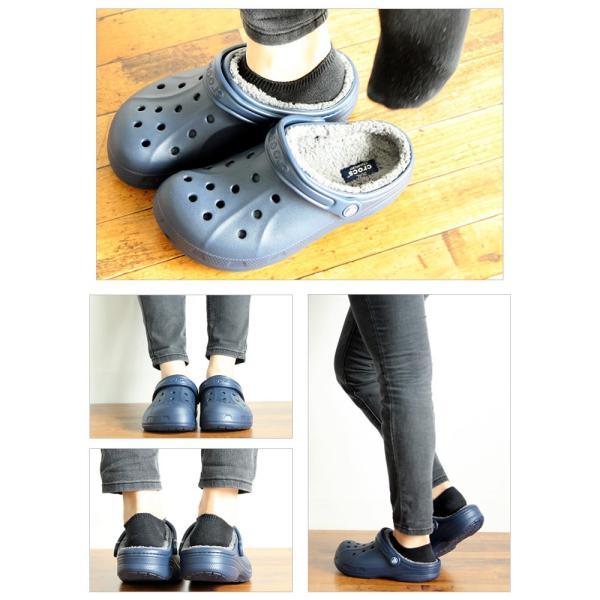 クロックス crocs メンズ レディース クロックス ウィンター クロッグ crocs winter clog 203766 ボア|famshoe|04