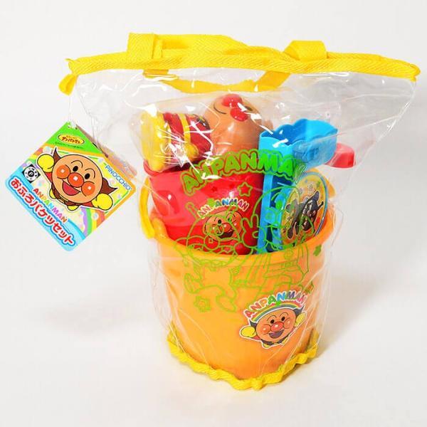 アンパンマン お風呂バケツセット 水遊び お風呂遊び おもちゃ 玩具 セット おふろ お風呂 お風呂で遊ぼう|fan-fare