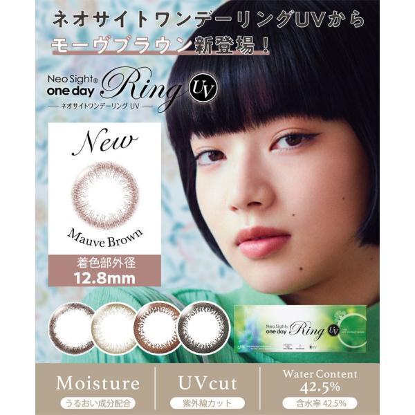 カラコン ネオサイトワンデーリングAM UV 1箱5枚 ワンデー 度あり 度なし|fancykarakon|02