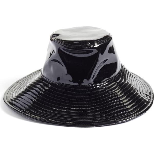 エリックジャヴィッツ レディース 帽子 キャップ Driptidoo Patent Bucket Rain Hat